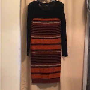 Kensie Light Knit Sweater Dress